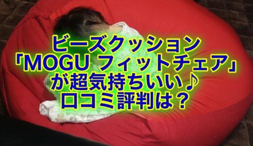 ビーズクッションなら「MOGU フィットチェア」がおすすめ!口コミ評判をチェック☆